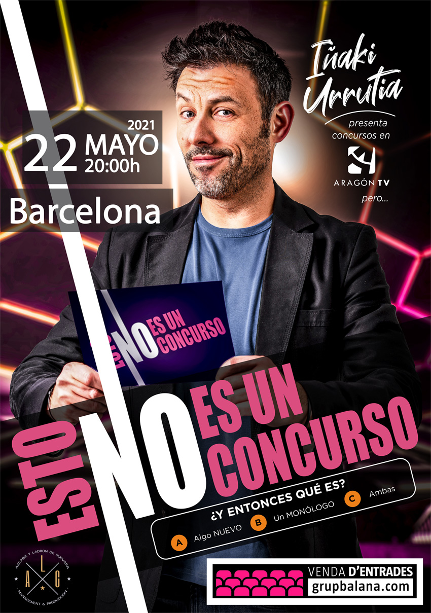 Iñaki Urrutia en Barcelona, 22/05/2021