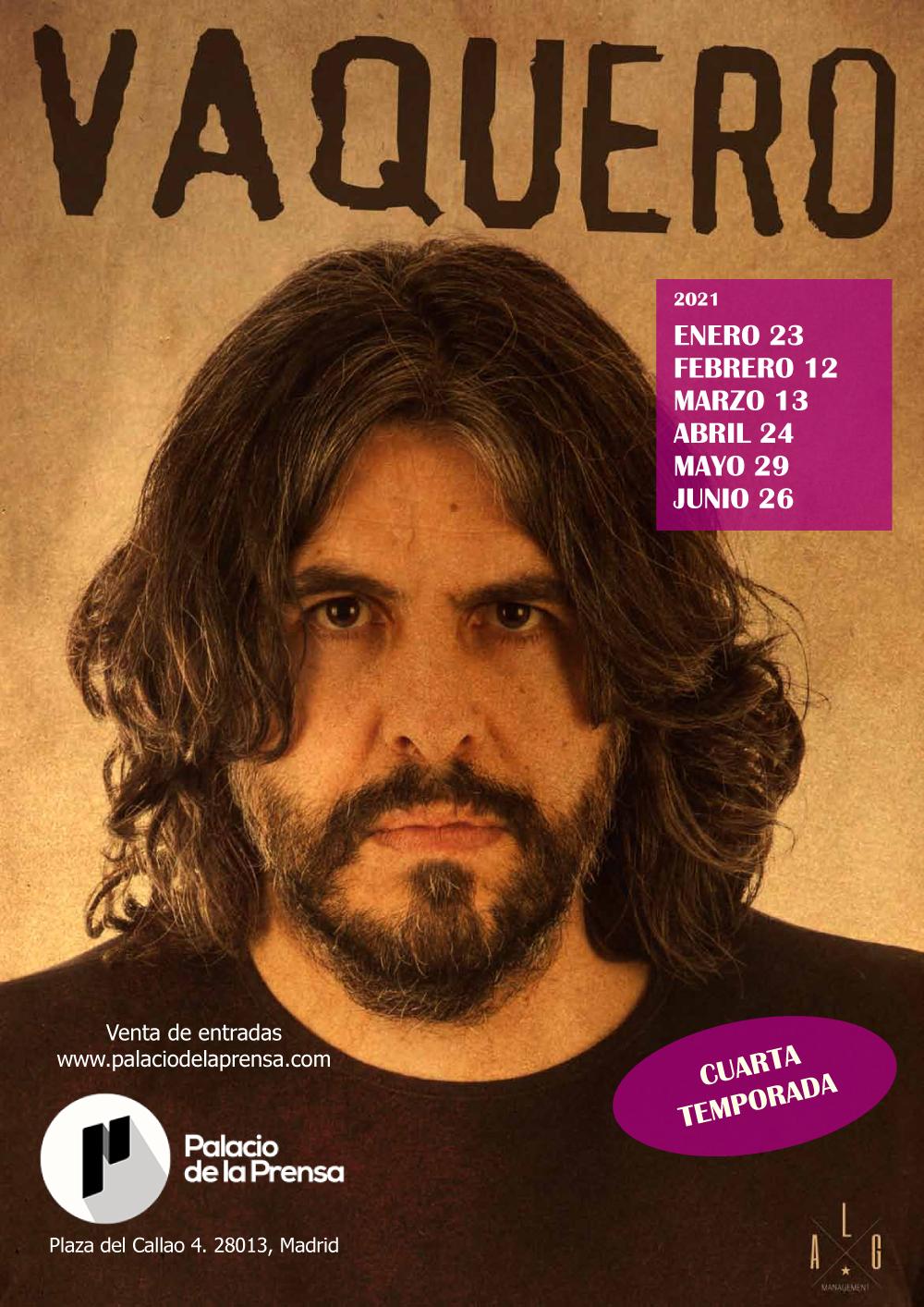 Cuarta temporada de J.J. Vaquero en El Palacio de la Prensa