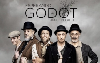 """Fernando Albizu en """"Esperando a Godot"""""""