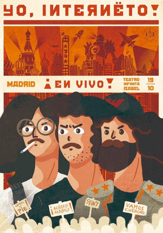 """Nueva temporada de """"¡Yo, Interneto!"""" en el Palacio de la Prensa de Madrid"""